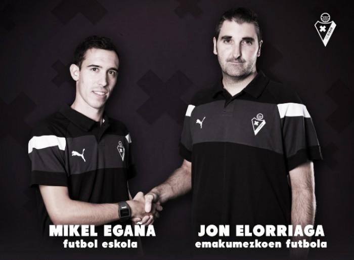 Mikel Egaña y Jon Elorriaga se suman al organigrama armero