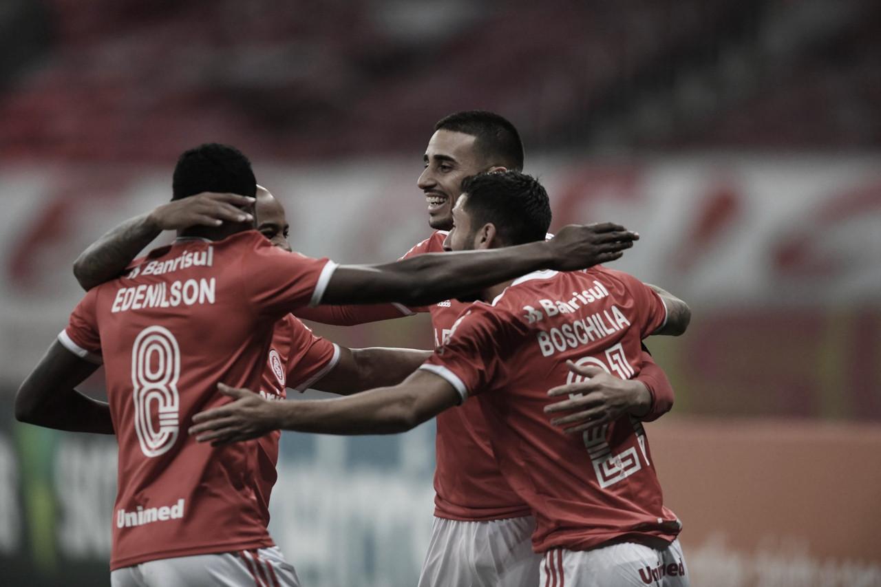 Objetividade do Internacional sobressai à valentia do Atlético-MG em duelo de técnicos argentinos