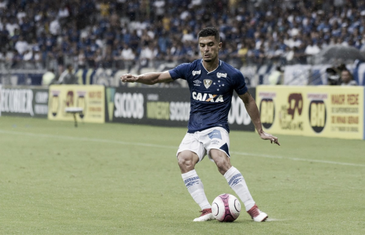 Egídio revela inspiração na torcida do Cruzeiro em lance de gol contra Villa Nova e já projeta Libertadores