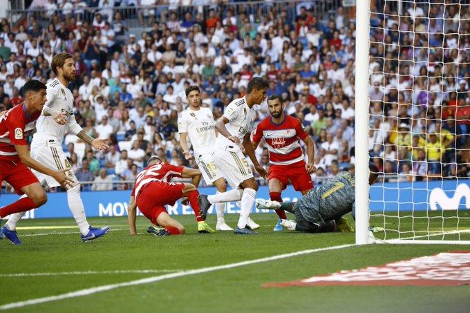 El Granada CF cae con dignidad en el Bernabéu