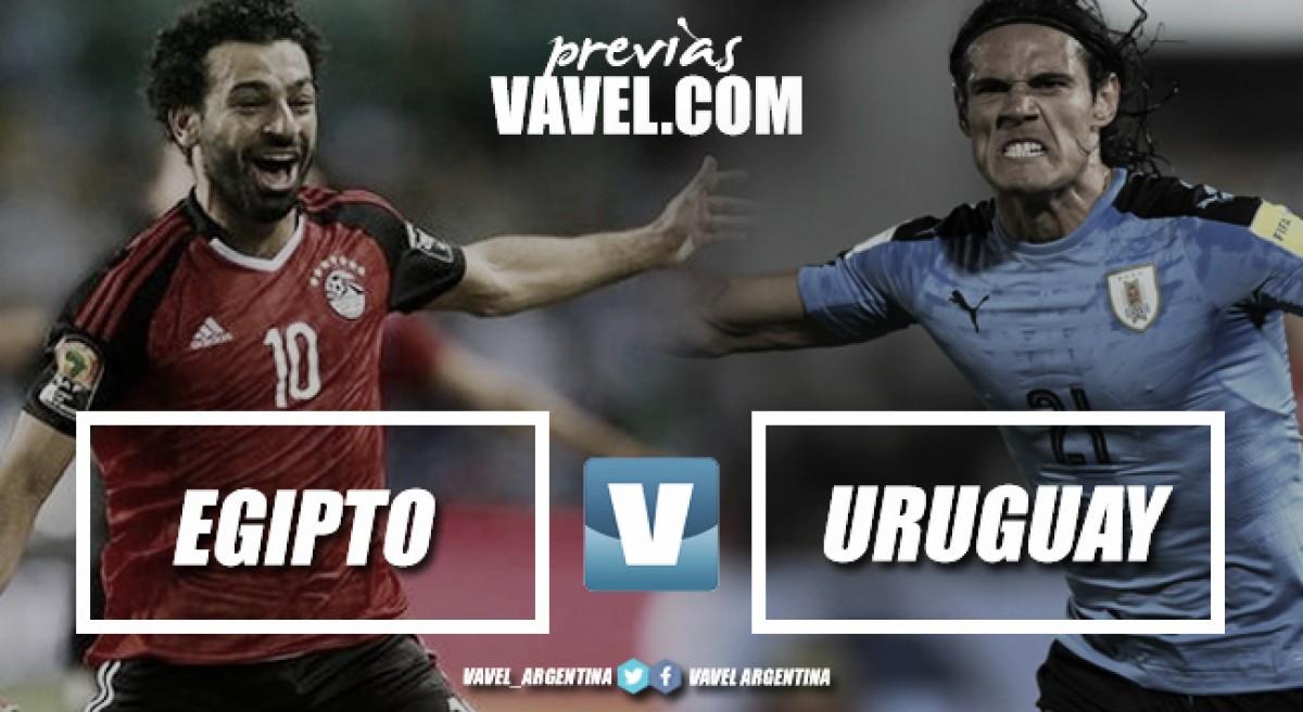 Previa Egipto - Uruguay: por el primer paso firme