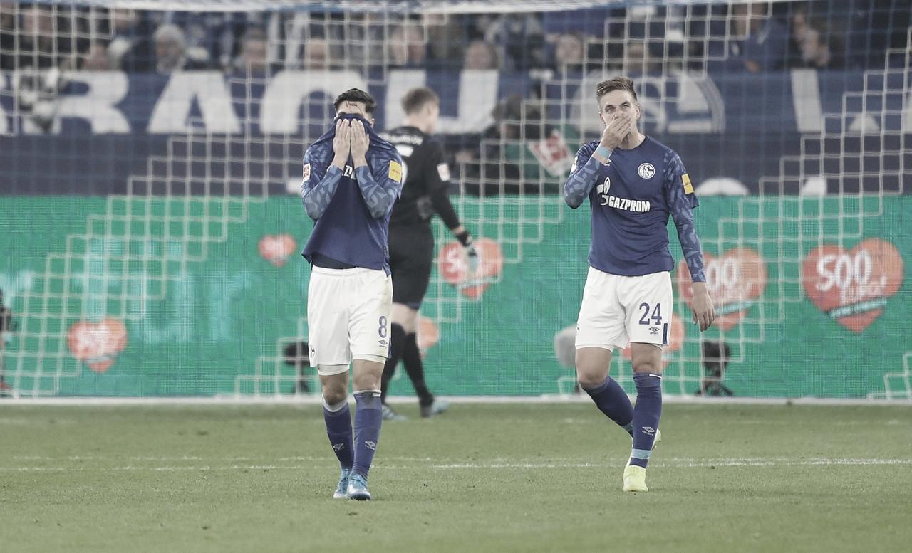 Schalke 04 empata contra Colônia no final e perde chance de assumir liderança na Bundesliga