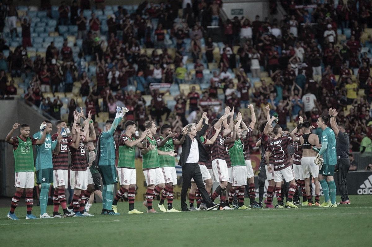 Flamengo abre oito pontos de vantagem na liderança pela primeira vez nos pontos corridos
