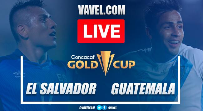 Goals and highlights: El Salvador 2-0 Guatemala in 2021 Gold Cup