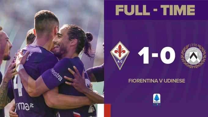 Serie A - La Fiorentina supera 1-0 l'Udinese: Milenkovic decide la sfida