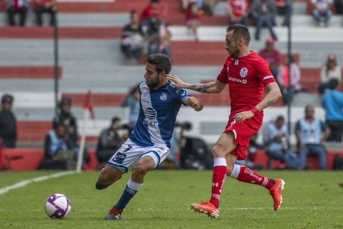 Toluca y Puebla dividen unidades en el 'Infierno'