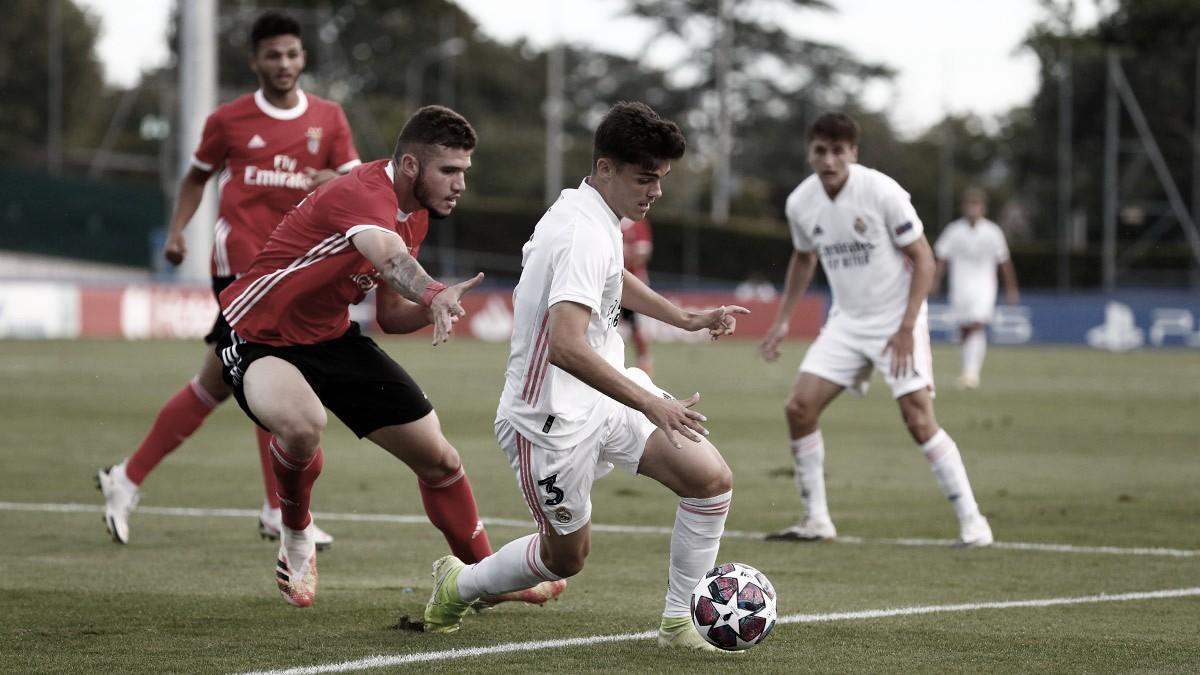Resumen Benfica vs. Real Madrid en la final de la UEFA Youth League (2-3)