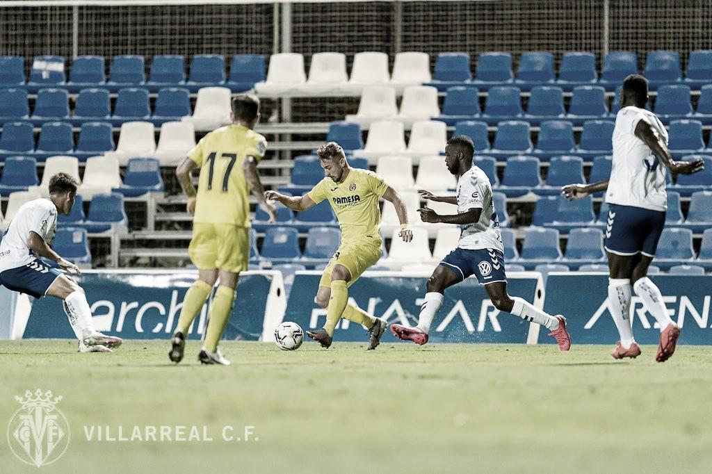 El Tenerife vence al Villarreal en su primer test veraniego (2-3)