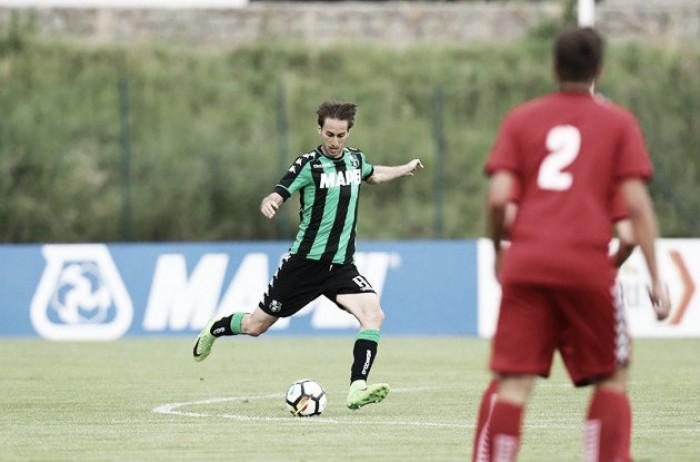 Sassuolo, 9-0 al Real Vicenza: poker di Iemmello con doppietta di Falcinelli