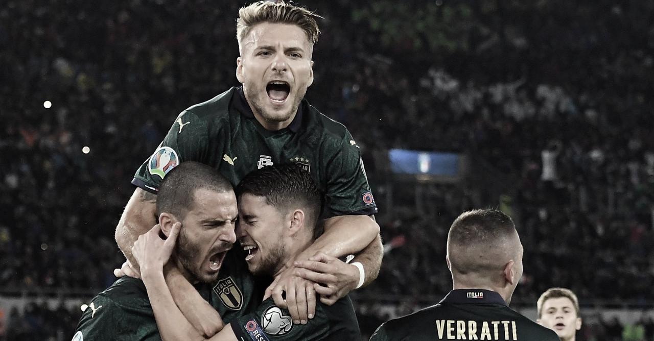 Itália bate a Grécia e garante vaga para a Eurocopa 2020
