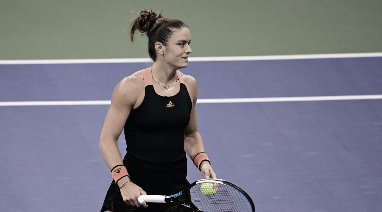 Sakkari vira para cima de Serena nas oitavas de final em Cincinnati
