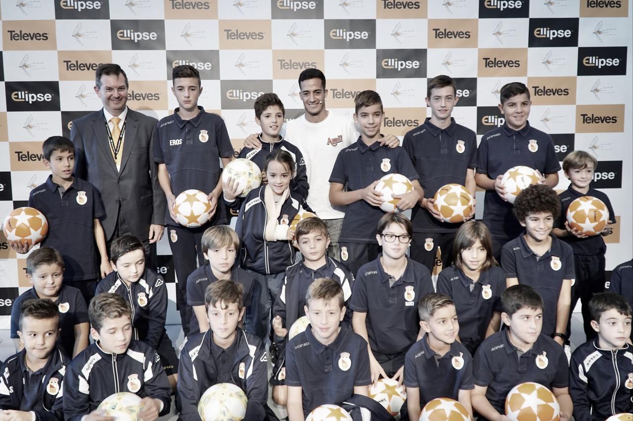 """Lucas Vázquez: """"Lo importante es disfrutar cada día del fútbol. Si se logra, es lo mejor que hay"""""""
