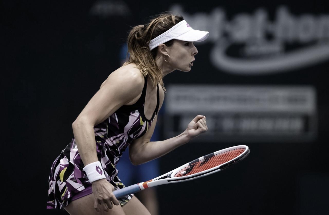 Alizé Cornet nopierdela esperanza de jugar Roland Garros