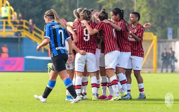 Serie A Femminile- La giornata storica del derby sorride al Milan