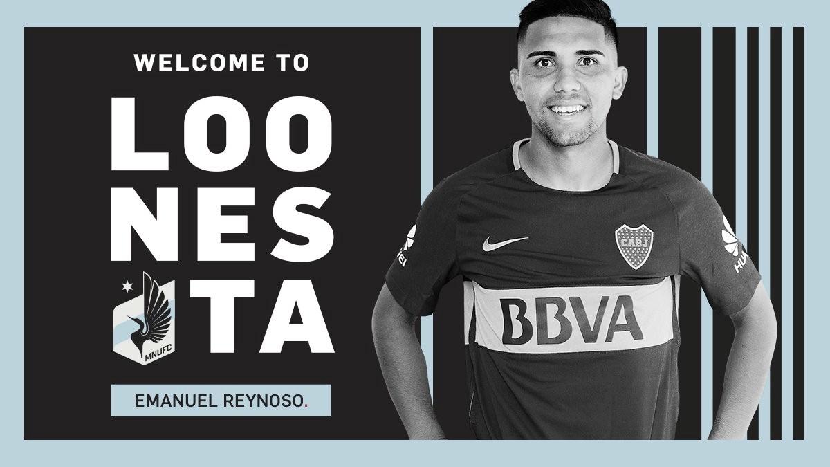 'Bebelo' Reynoso ficha por Minnesota United FC