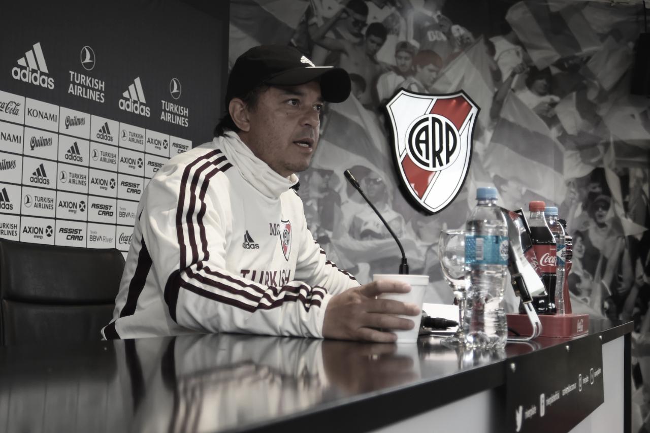 "Marcelo Gallardo: ""Vamos a dar pelea"""