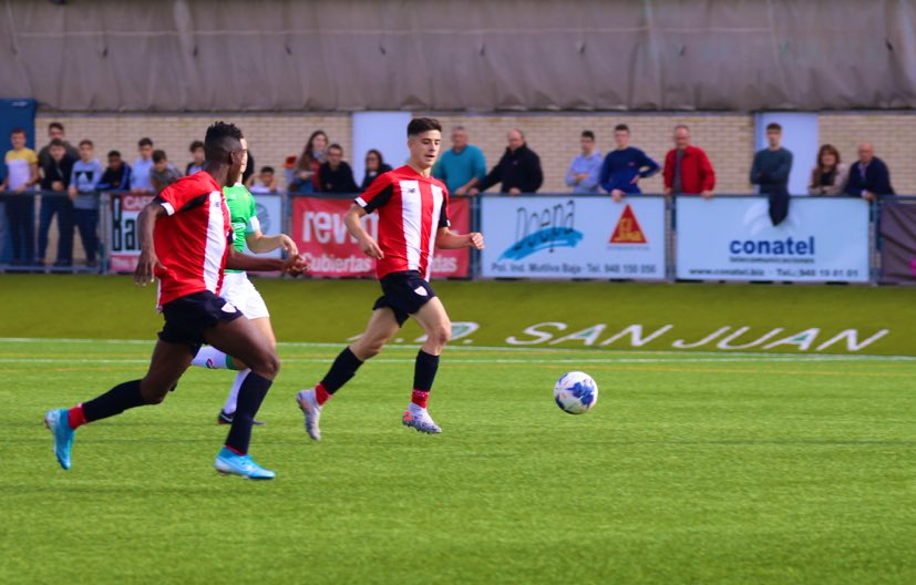 Williams y Serrano saltan al Bilbao Athletic