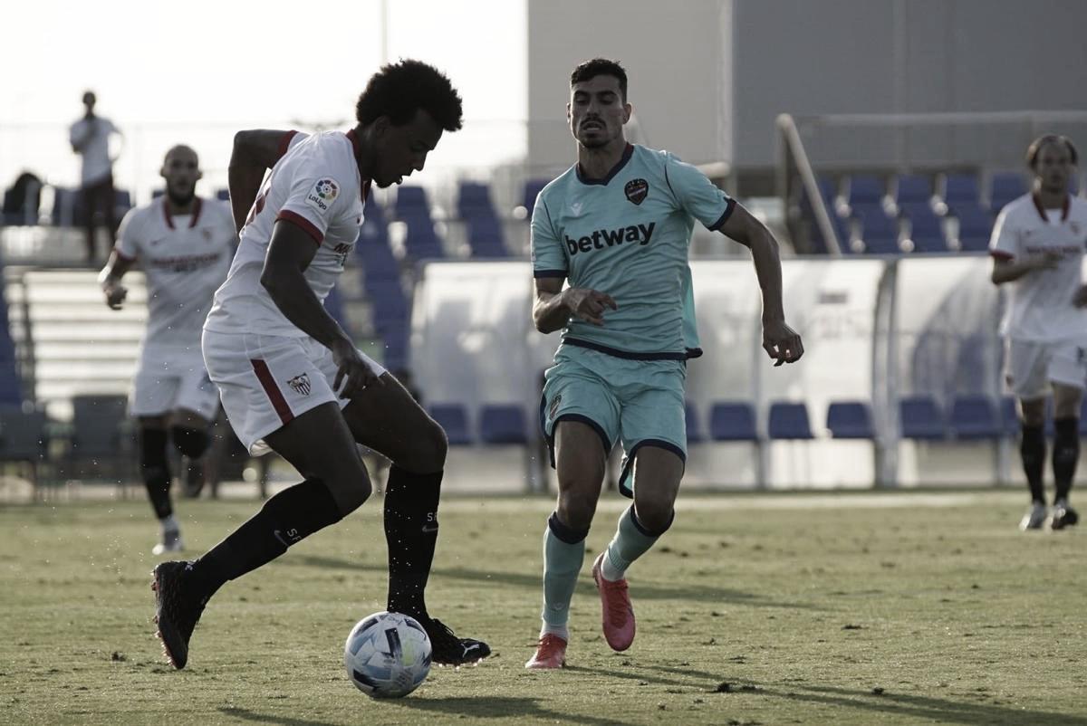 Modificado el horario del Sevilla FC - Levante UD