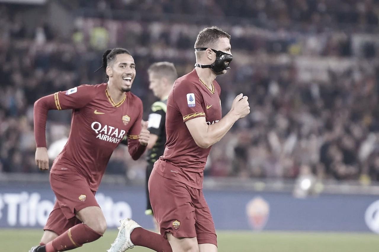 Roma bate Milan e encosta na zona de classificação da Champions League