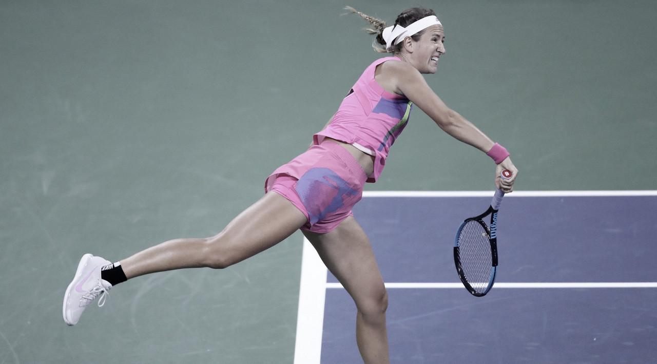 Azarenka busca revanche contra Sabalenka, vence com autoridade e segue no US Open