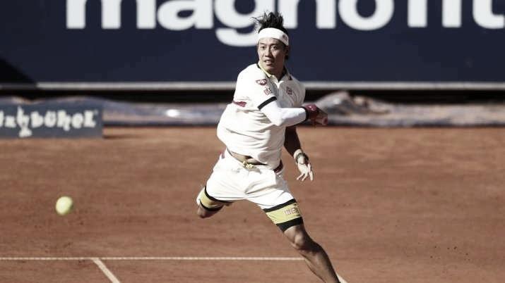 Na primeira partida em mais de um ano, Nishikori cai para Kecmanovic no ATP 250 de Kitzbühel