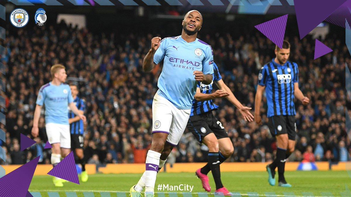 Sterling e Aguero schiantano l'Atalanta: vince il Manchester City 5-1