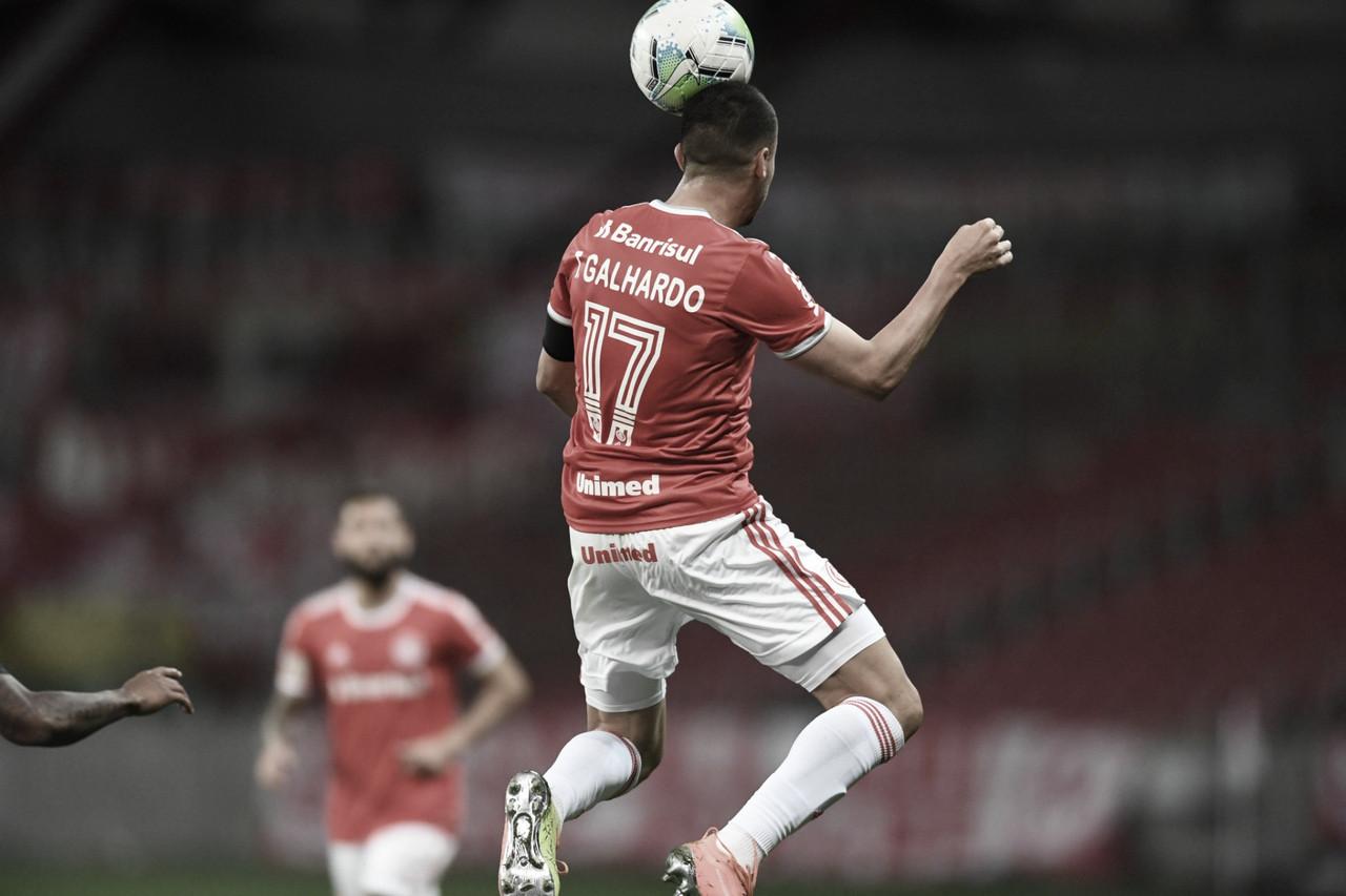 Galhardo decide mais uma vez e Internacional vence Ceará no Beira-Rio