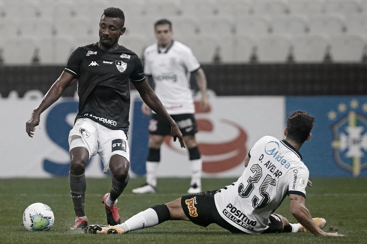 Em partida de arbitragem discutível, Corinthians busca empate nos acréscimos contra Botafogo