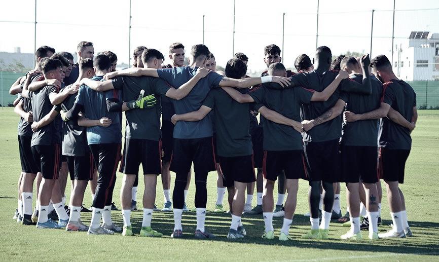 La selección sub-17, con la mirada puesta en Brasil