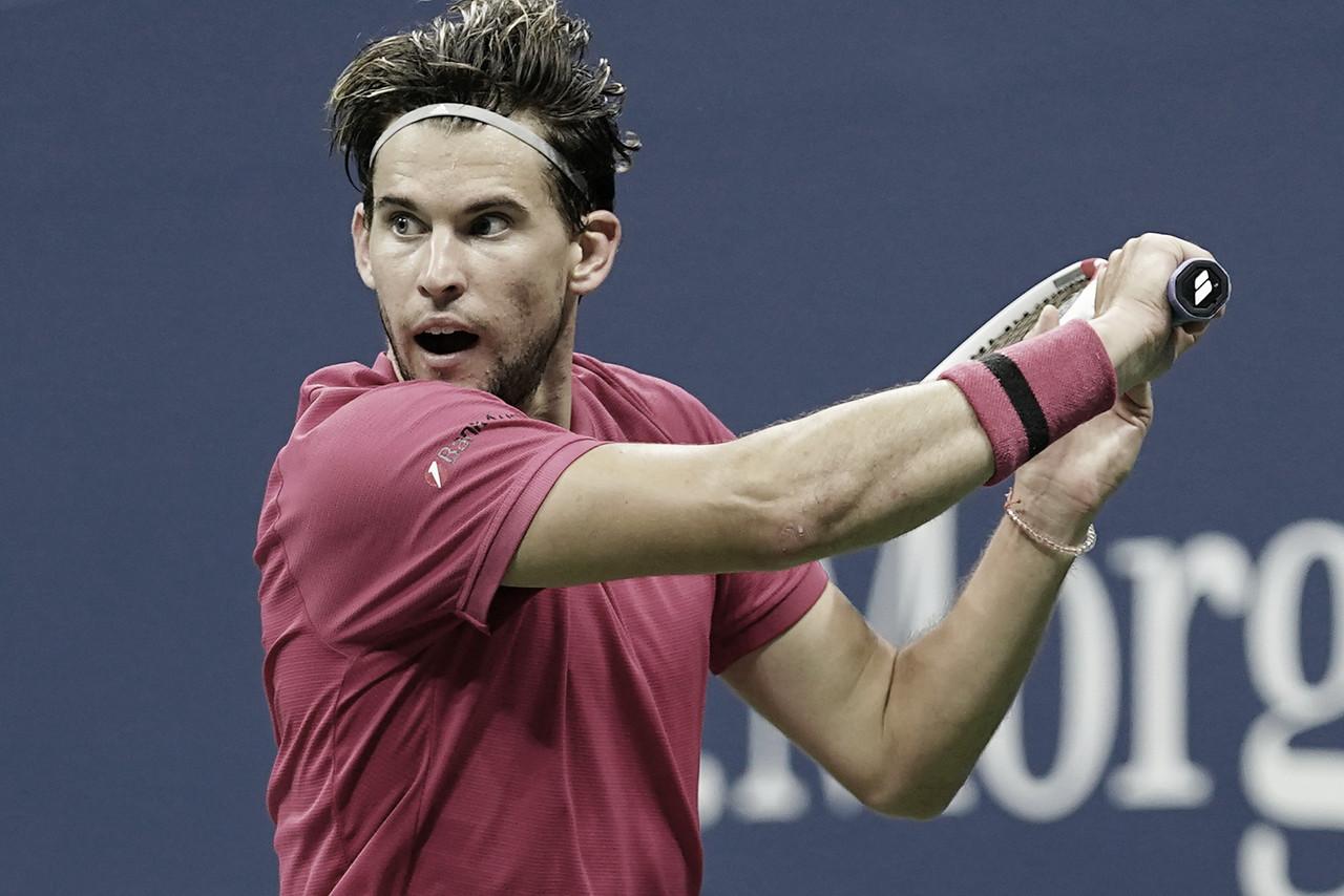 Thiem derruba atual vice-campeão Medvedev e vai à final do US Open