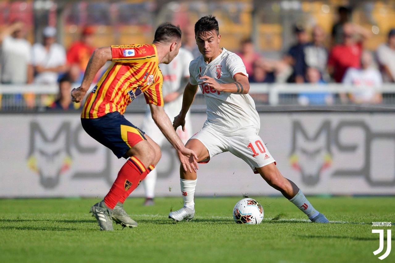 La Juventus pareggia 1-1 a Lecce: Dybala e Mancosu i marcatori della sfida