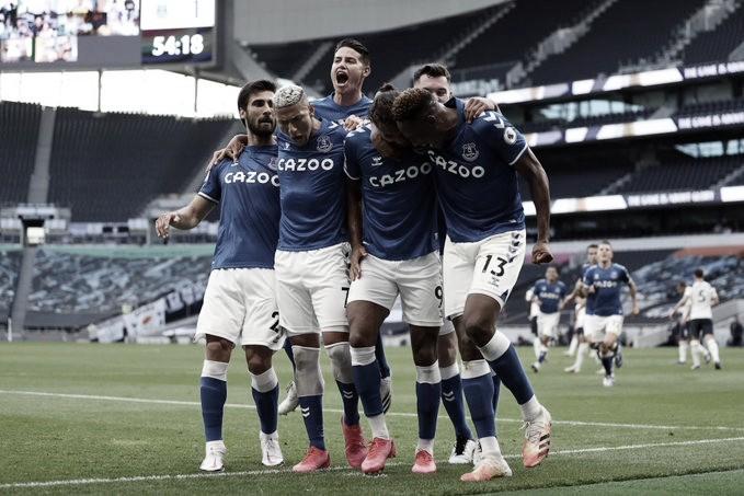Na estreia da Premier League, Everton desbanca Tottenham e quebra tabu em Londres
