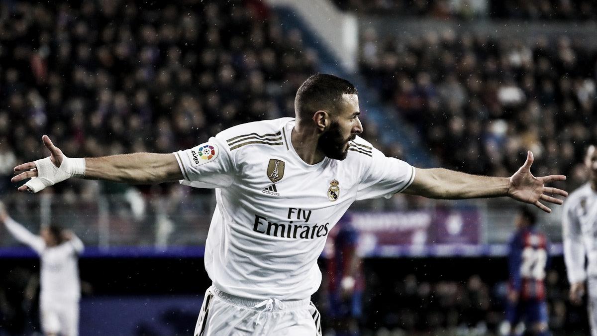El Real Madrid baila a un Eibar sin fútbol