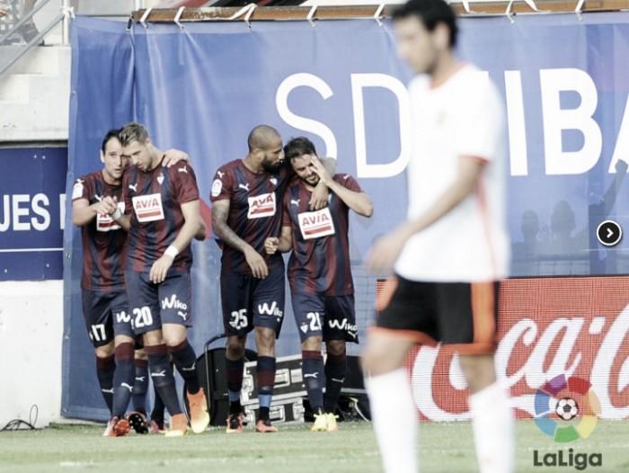 Eibar não perdoa e vence Valencia em casa pelo placar mínimo