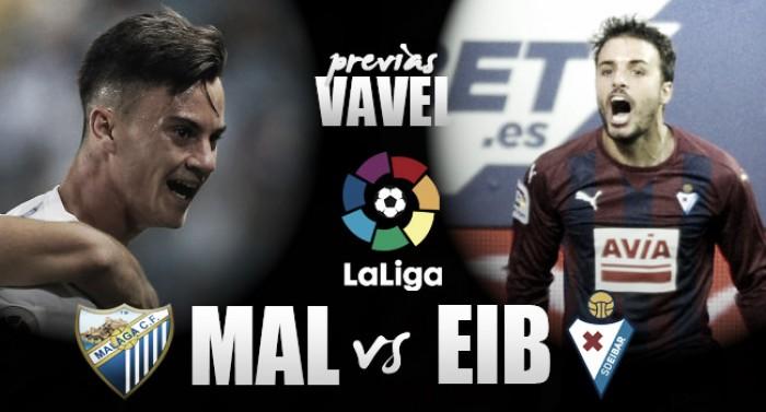 Previa Málaga - Eibar: seguir sumando