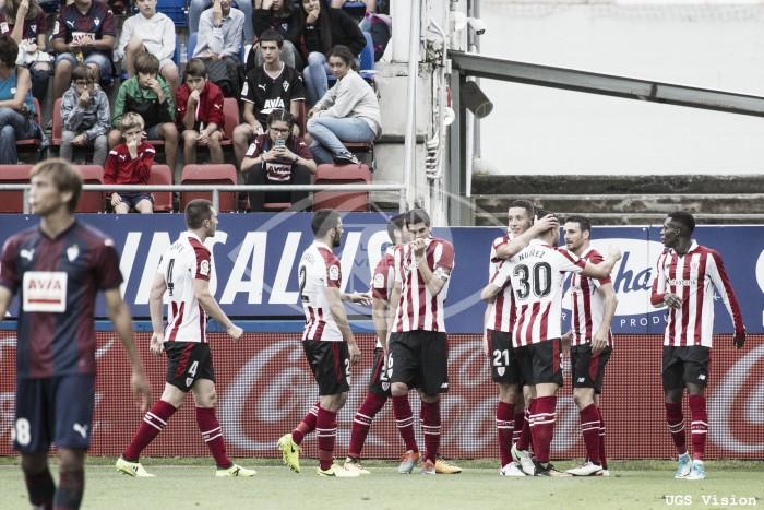 Eibar - Athletic: puntuaciones Athletic, jornada dos de la Liga Santander