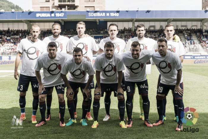 Éibar - Real Sociedad: puntuaciones del Éibar, jornada 6 de Primera División