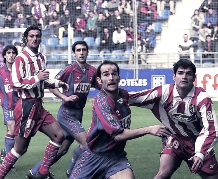 Historia del SD Eibar - Atletico de Madrid