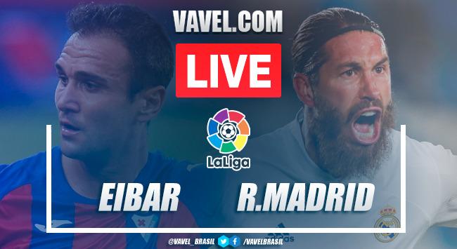 Eibar vs Real Madrid EN VIVO hoy (1-3)