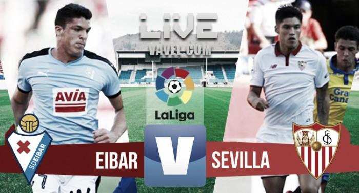 El Eibar empata ante el Sevilla con dos jugadores menos