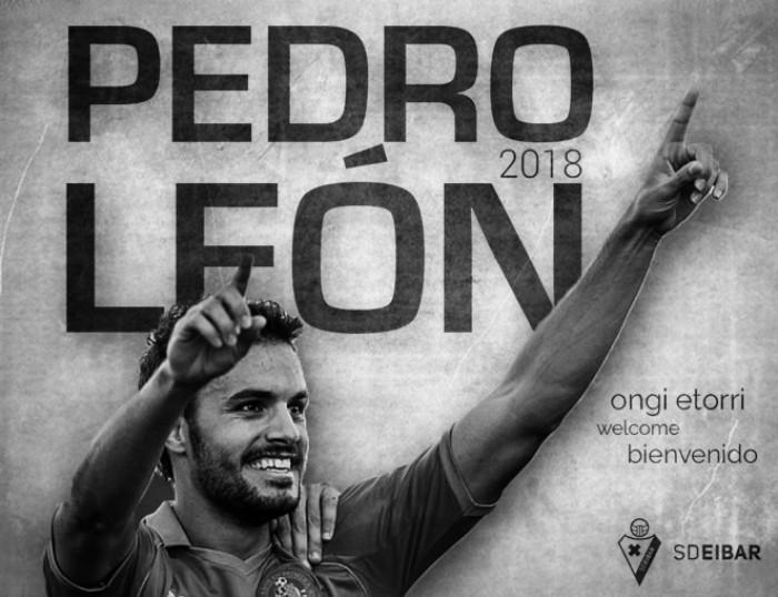 Pedro León, fichaje armero con contrato hasta 2018