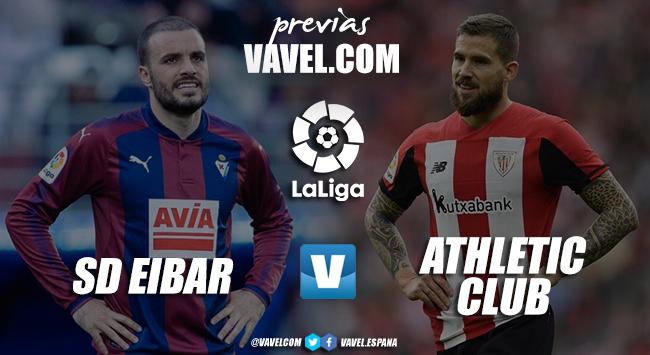 Previa Eibar - Athletic: un derbi en el que los tres puntos son la prioridad máxima para ambos