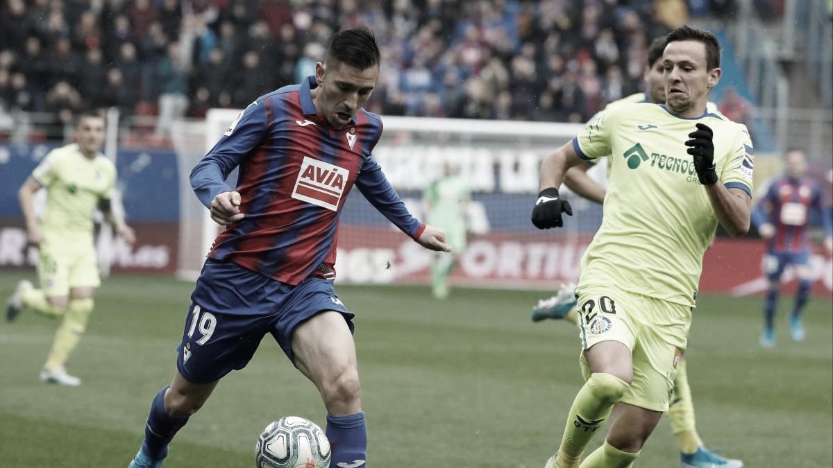 Resumen Eibar vs Getafe en La Liga (0-0)