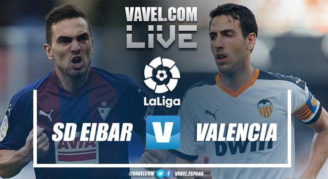 Resumen Eibar 1-0 Valencia en LaLiga 2020