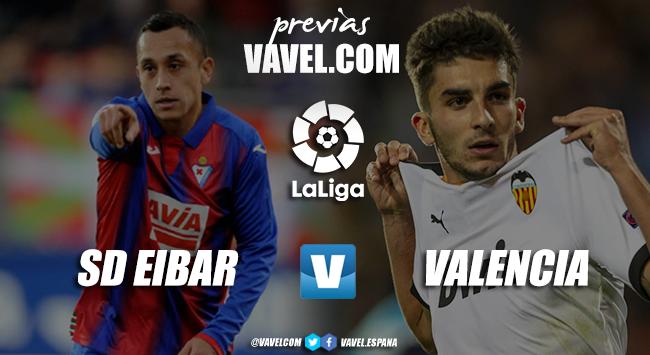 Previa SD Eibar - Valencia CF: solo vale sumar de tres en tres