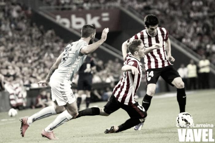 El Athletic llegará desgastado al derbi