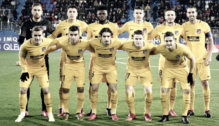 Eibar - Atlético de Madrid: puntuaciones del Atleti; Jornada 19 de La Liga