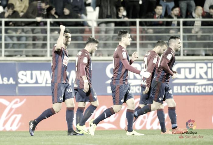 Eibar - Málaga: puntuaciones del Eibar, jornada 24 de Primera