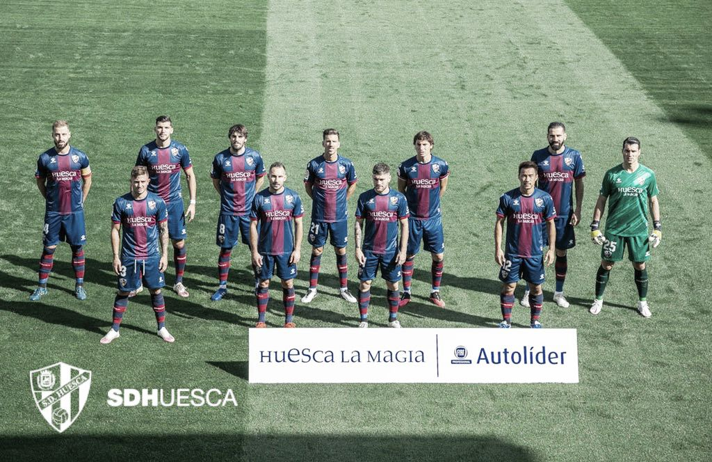 Once inicial de la SD Huesca / Twitter: SD Huesca