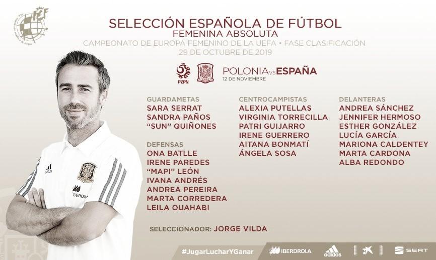 """Jorge Vilda: """"El fútbol femenino vive un crecimiento exponencial"""""""